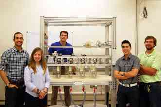 Fire-resistant coating creates cotton that will not burn