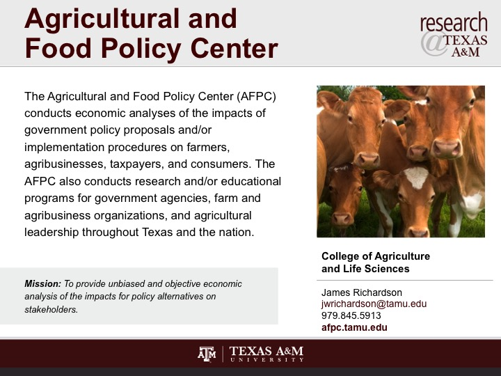 agricultural_and_food_policy_center