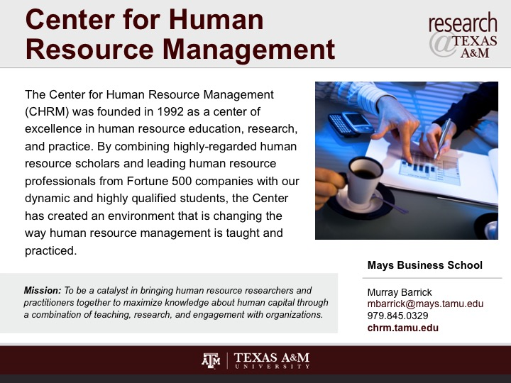 center_for_human_resource_management