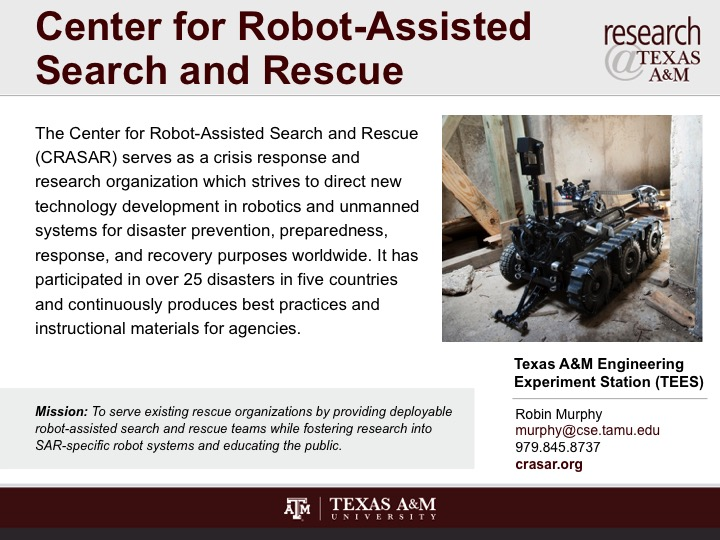 center_for_robot-assisted_search_and_rescue