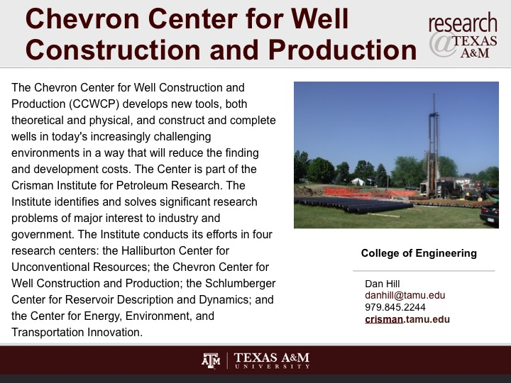 chevron_center_for_well_construction_and_production