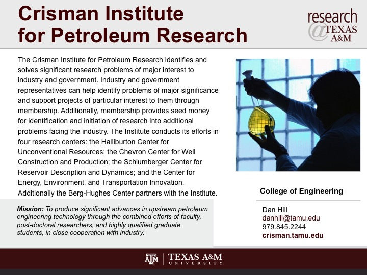 crisman_institute_for_petroleum_research