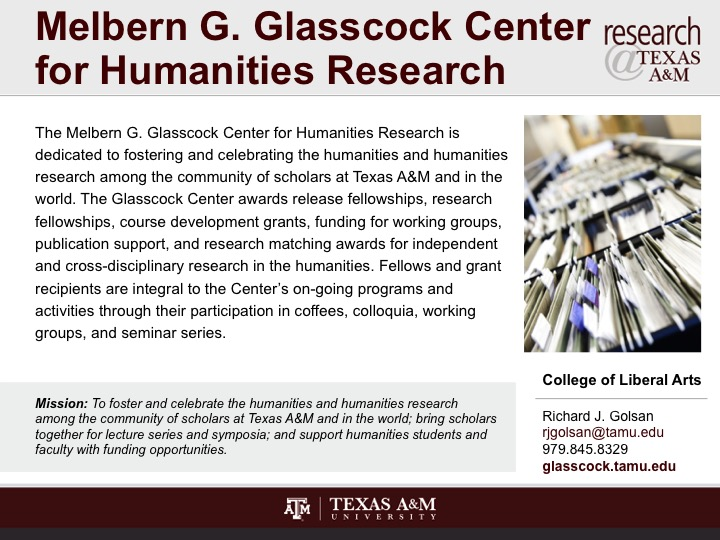 melbern_g_glasscock_center_for_humanities_research