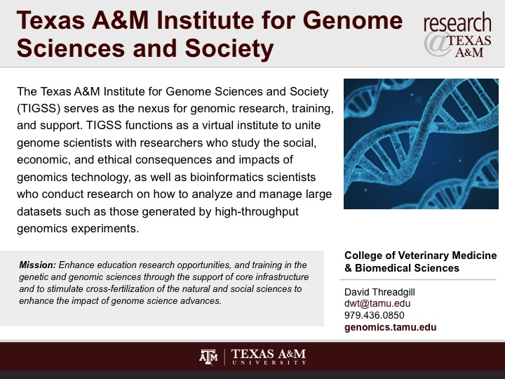texas_a_and_m_institute_for_genome_sciences_and_society