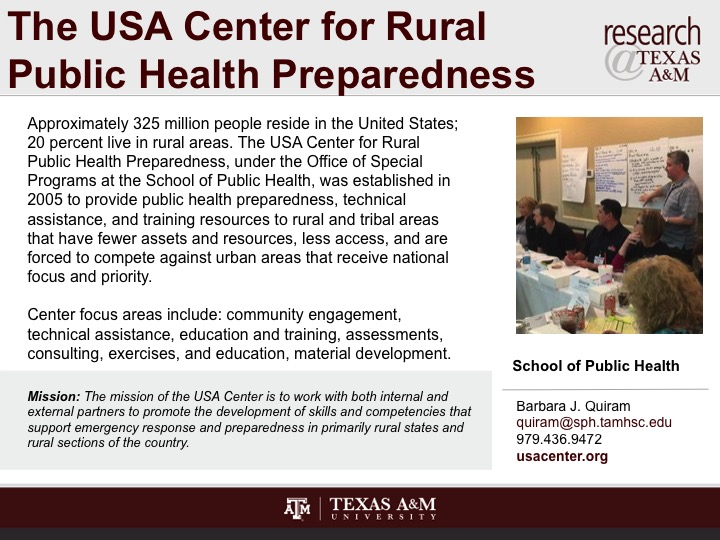 the_usa_center_for_rural_public_health_preparedness
