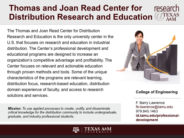 thomas_and_joan_read_center_for_distribution_research_and_education