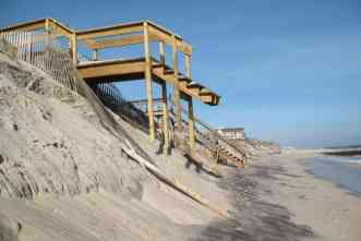 65 years of erosion in one night: That's what Hurricane Ike did to the Texas coast