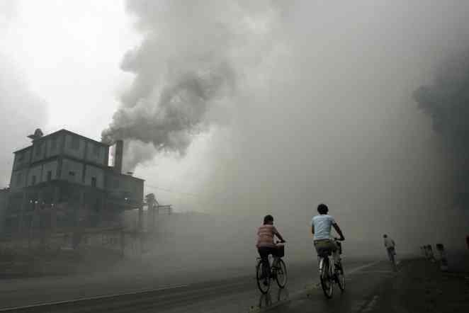 High levels of air pollution in Asia appear to affect weather patterns