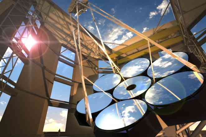 Giant Magellan Telescope passes reviews, poised to start construction