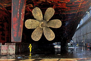 VIDEO: New coating for ships would repel organisms that build up on hulls