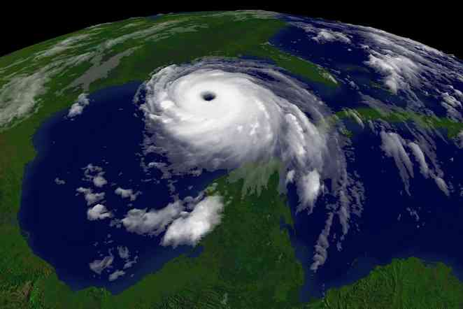 An unexpected finding: Aerosols appear to weaken tropical cyclones