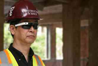 Could Google Glass change how construction sites are managed?