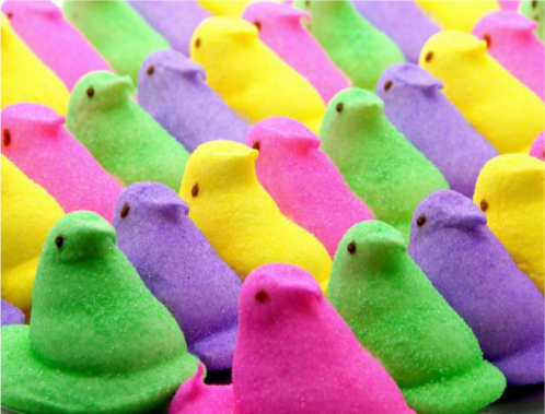The physics of junk food: What happens to a Peep in a vacuum?