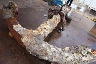 Found: The lost anchor of the HMS Chatham? A&M begins verification