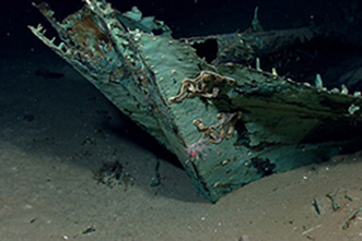 Virtual exploration: Archaeologists use laptops to study sunken ships