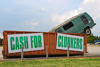 'Cash for Clunkers' stimulus program actually hurt automakers, study says