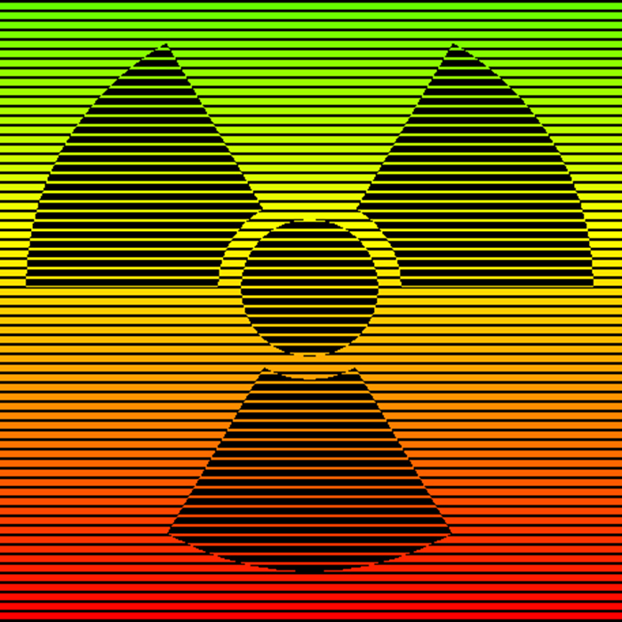 symbol for nuclear radiation