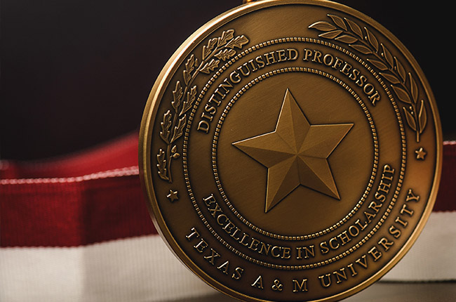 University Distinguish Professor title goes to five A&M faculty members