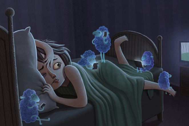 Trouble sleeping? Try curbing your use of electronic devices after dark