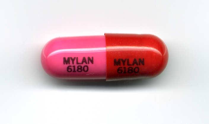 A single drug capsule
