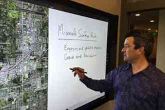 A&M labs use Surface Hub to develop ways to improve human collaboration