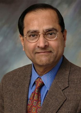 portrait of civil engineer Kumares C. Sinha