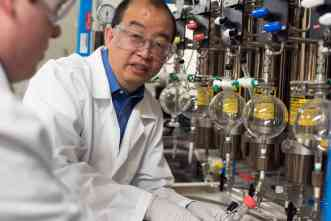 Federal grant supports development of new carbon-capture technology