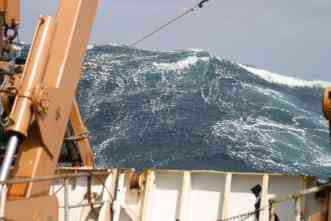 Rogue waves: Massive walls of water can appear suddenly, sink ships