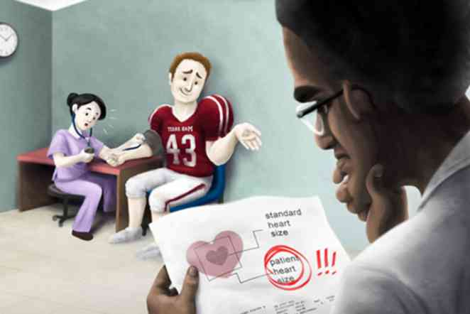 Study sets benchmarks to monitor cardiac health in football players