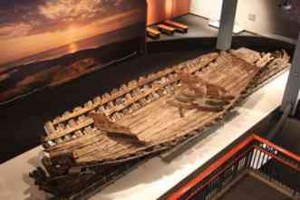 After 17 years of restoration, ship from La Salle expedition is on display