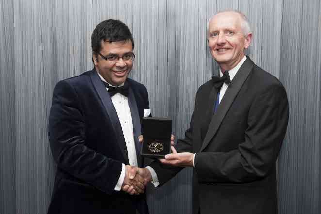 Beilby Medal and Prize for 2016 presented to A&M chemist Banerjee