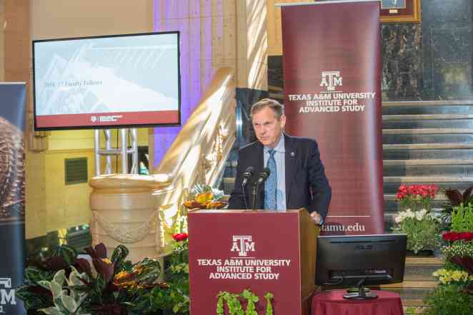 Texas A&M University Institute for Advanced Study introduces its Faculty Fellows for 2016-17