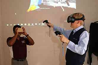 Engineer aims to make virtual reality practical for researchers, teachers