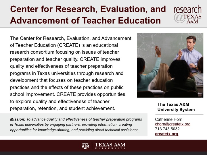 evaluation of the texas education system