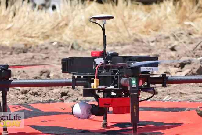 Researchers use drones to gather 'actionable intelligence' for farmers