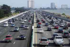 Cars using toll lanes sometimes travel slower than other traffic
