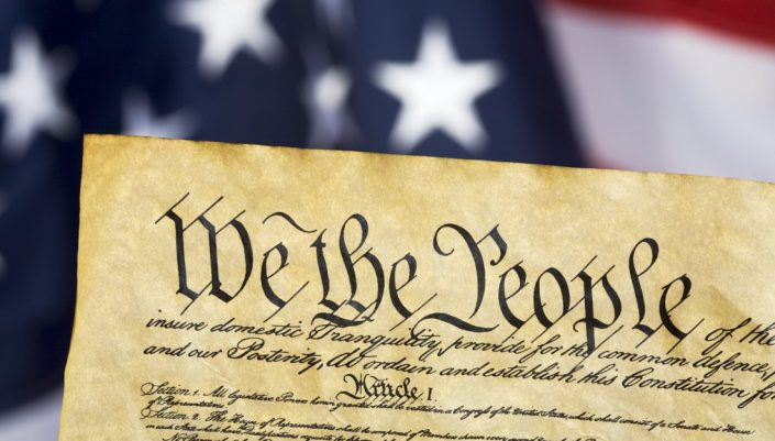 The first paragraphs of the US Constitution