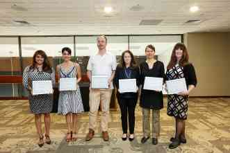 Arts & Humanities Fellowships presented to six Texas A&M University faculty members