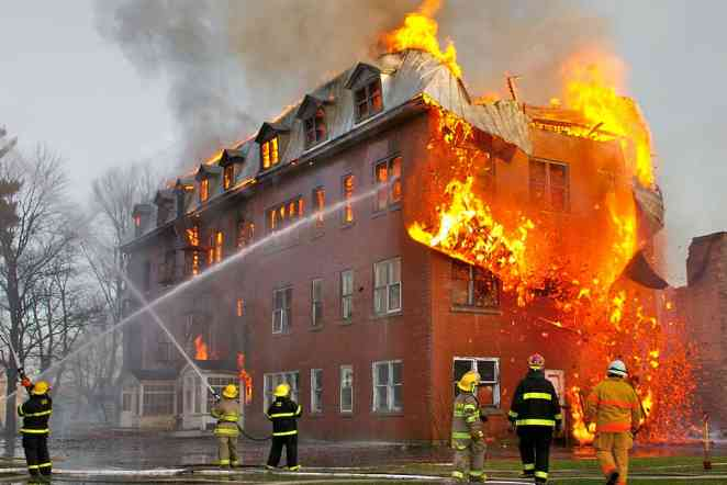 NSF-funded study looks to improve navigation inside burning buildings