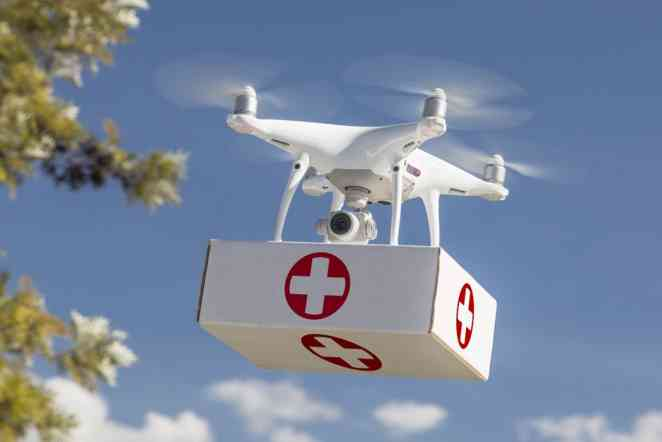 Air care: Study looks at using drones to deliver medicine and diagnostics