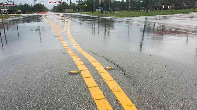 TTI investigates odd behavior of Texas highways after hurricane