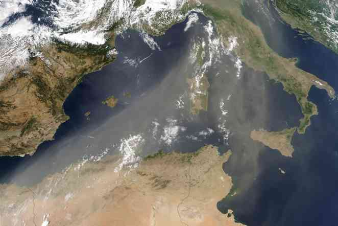 Sahara Dust May Make You Cough, But It's A Storm Killer