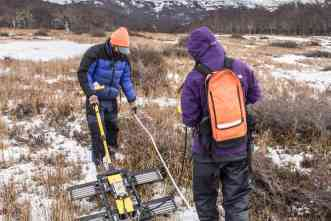 Expedition makes subsurface maps, takes samples in Chilean peatlands