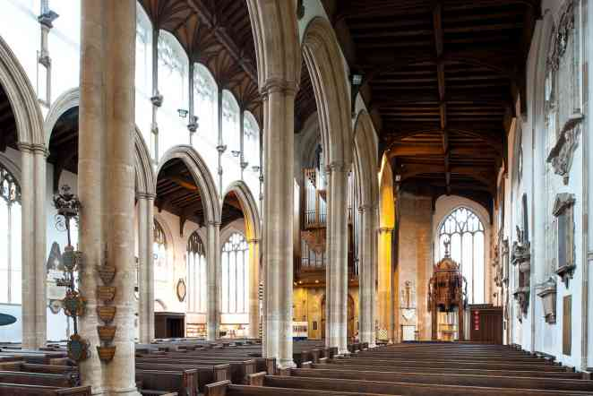 Scholars study 500-year-old canopy for baptismal font in English church