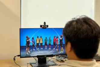 Human Behavior Laboratory exhibits advanced technology at open house