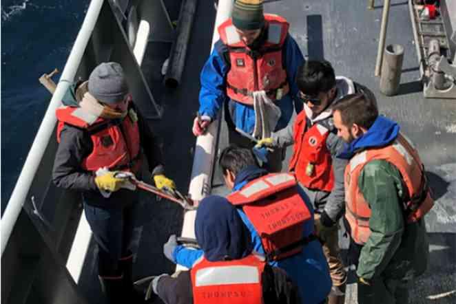 Core samples help geoscientists reveal history of ocean circulation