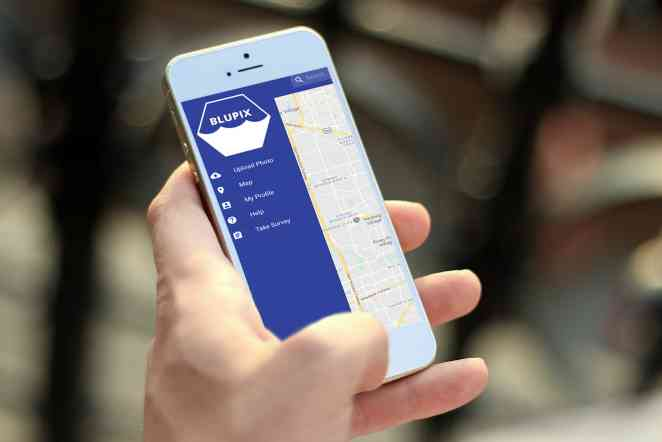 New app BluPix allows users to track height and location of flood waters