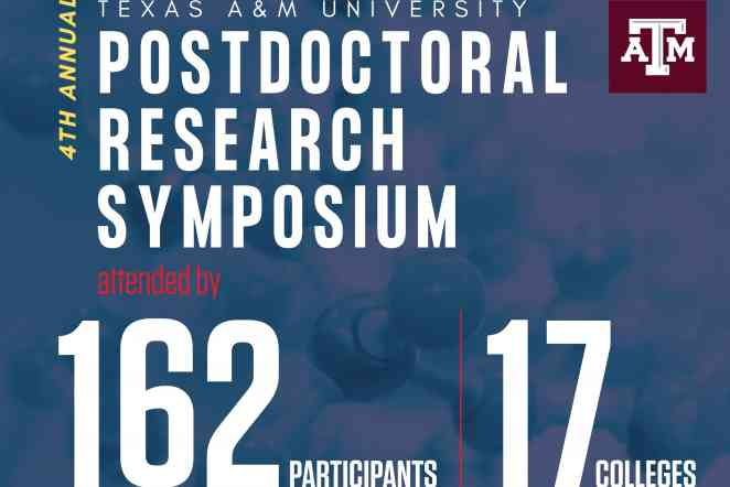 Six postdoctoral researchers earn honors at A&M symposium