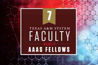 AAAS names seven A&M System faculty members as 2020 Fellows