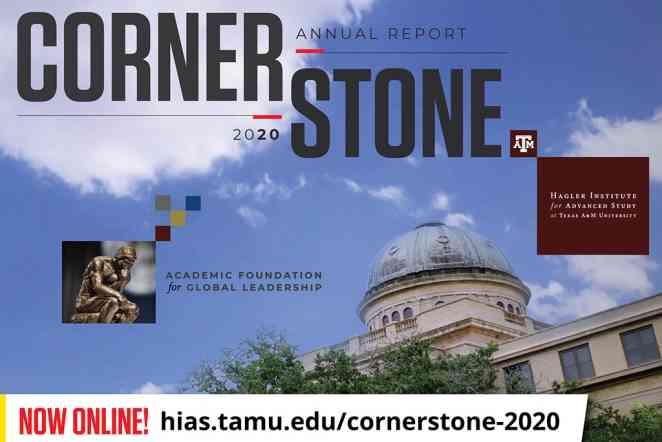 Hagler Institute publishes first digital edition of Cornerstone